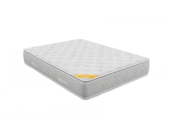 מזרן Harmony Pillowtop - מזרן פולימר ללא קפיצים בתוספת שכבות פילוטופ דו צדדי המשולב לטקס