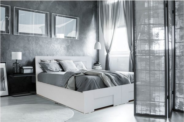 מיטה יהודית ללא מזרנים - מיטה בעיצוב קלאסי , קווים נקים