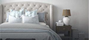 מיטות בעיצוב מרופד דמוי עור