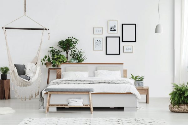 מיטה בעיצוב חדשני עשויה מלמין יצוק