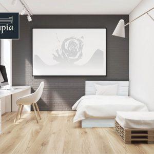 מיטה מעץ מלא דגם 5039