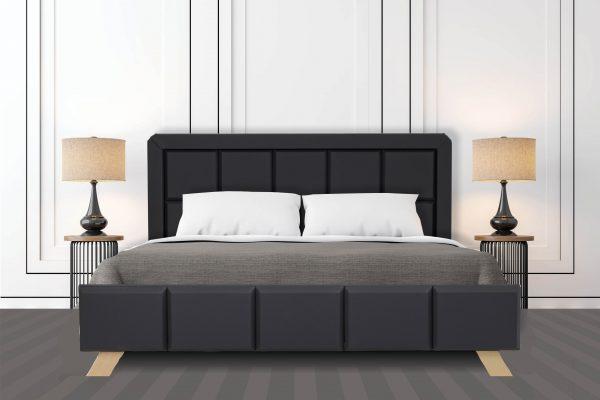 מיטה דגם 6024 דמוי עור